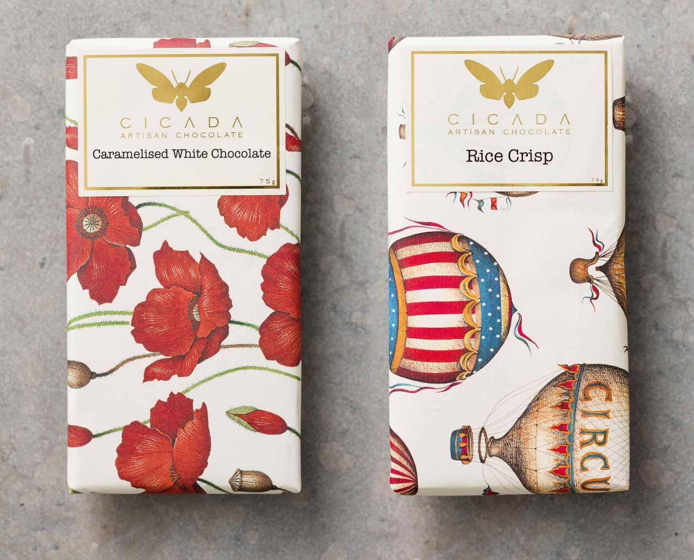 チョコレートの飾り付け紙チョコレート2