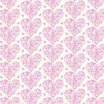 バレンタインデー- 装飾紙 tsc-043 ハートと蝶