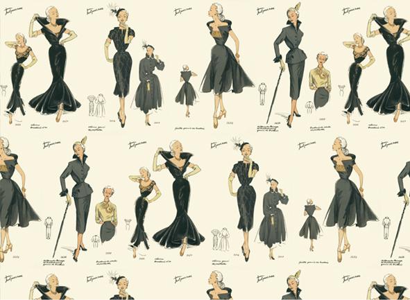 ファッション ファイン イタリア 装飾紙 crt 078