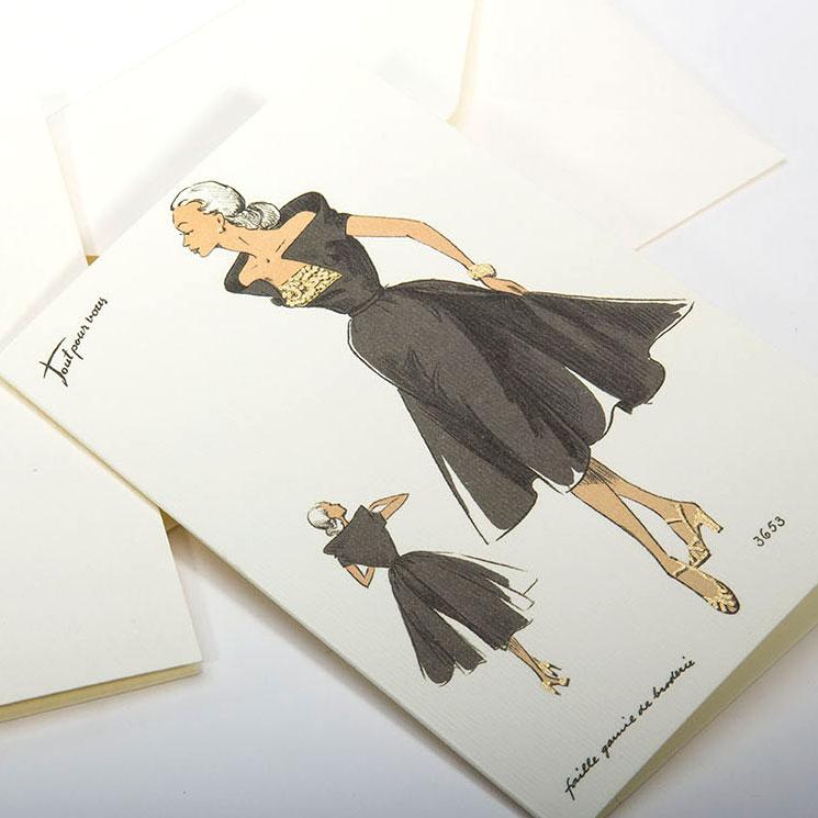 高級イタリア文具 レディース ファッション Rossi1931 カード