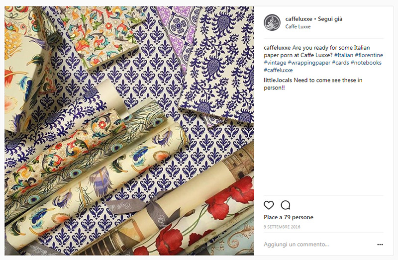 instagram - カフェ - luxxe - rossi1931 - 装飾紙